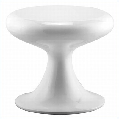 Zuo Mushroom Chair in White