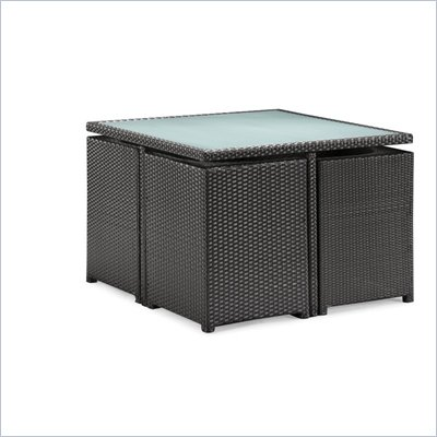 Zuo Turtle Outdoor Table Set