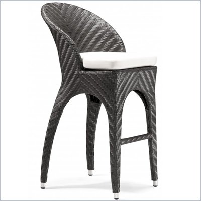 Zuo Corona Outdoor Bar Chair
