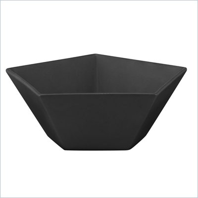 Zuo Pentagon Bowl in Black