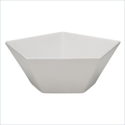 Zuo Pentagon Bowl in White