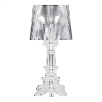 Zuo Salon Small Table Lamp in Clear