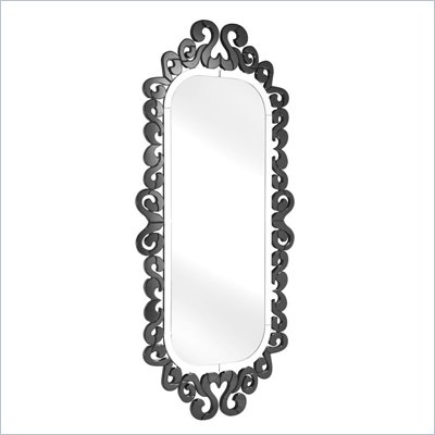 Zuo Shiva Mirror in Black