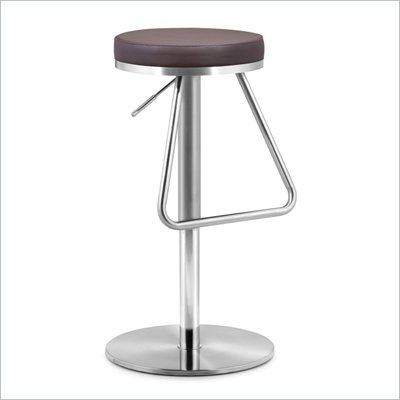 Zuo Soda Barstool in Brown