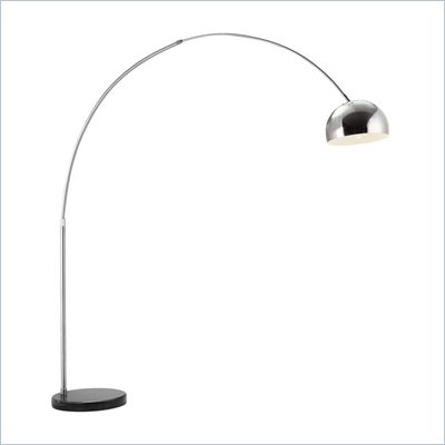 Zuo Spectral Floor Lamp in Chrome