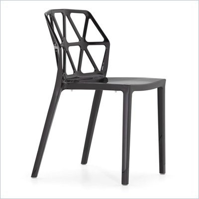 Zuo Stackable Juju Chair in Black