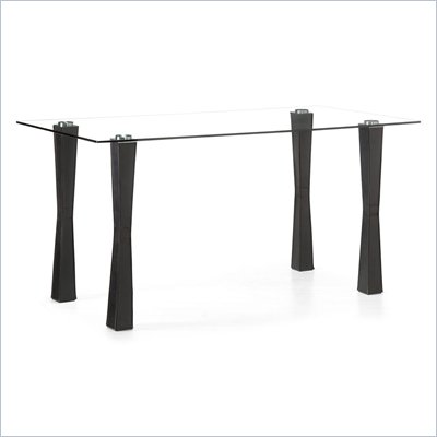 Zuo Stilt Counter Height Dining Table in Espresso