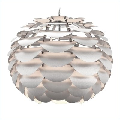 Zuo Tachyon Ceiling Lamp in Aluminum