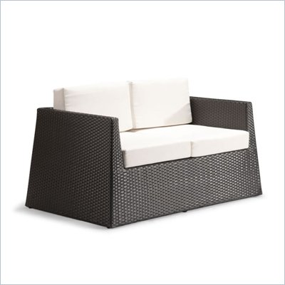 Zuo Tulum Weave Loveseat