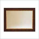 Lexington St.Tropez Grace Mirror in Rich Walnut Brown