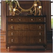 Lexington St.Tropez Miranda Single Dresser in Rich Walnut Brown