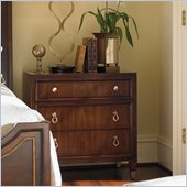 Lexington St.Tropez Chablis Nightstand in Rich Walnut Brown
