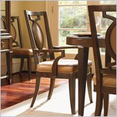 Lexington St.Tropez Saverne Arm Chair in Rich Walnut Brown