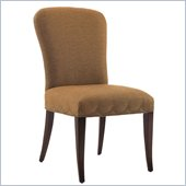 Lexington St.Tropez Chateau Upholstered Chair in Rich Walnut Brown