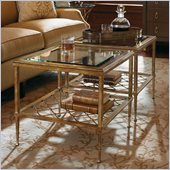 Lexington St.Tropez Sanremo Bunching Cocktail Table in Gold Finish
