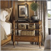 Lexington Twilight Bay Mayfair Nightstand in Chestnut