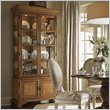 ADD TO YOUR SET: Lexington Twilight Bay Pierpoint Display Cabinet in Chestnut