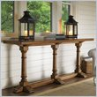 ADD TO YOUR SET: Lexington Twilight Bay Veronica Console Table in Chestnut