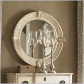 Lexington Twilight Bay Weston Mirror in Antique Linen