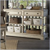 Lexington Twilight Bay Merideth Console in Antique Linen