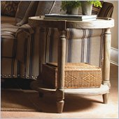 Lexington Twilight Bay Phoebe Lamp Table in Antique Linen