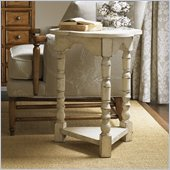 Lexington Twilight Bay Bailey Chairside Table in Antique Linen