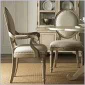Lexington Twilight Bay Byerly Arm Chair in Driftwood