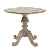 Lexington Twilight Bay Keaton Pedestal End Table in Driftwood