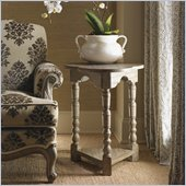 Lexington Twilight Bay Bailey Chairside Table in Driftwood