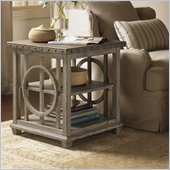 Lexington Twilight Bay Wyatt Lamp Table in Driftwood