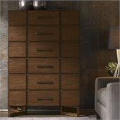 Lexington 11 South Skyline Chest in Chestnut Brown