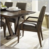 Lexington 11 South Essence Innova Arm Chair in Chestnut Brown - Assembly Required