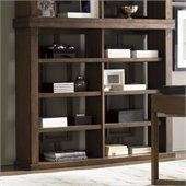 Lexington 11 South Synergy Bookcase or Hutch in Chestnut Brown