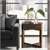 Lexington 11 South Cosmo Lamp Table in Chestnut Brown