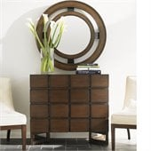 Lexington 11 South Cassina Hall Chest in Chestnut Brown