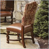 Lexington Fieldale Lodge Aspen Side Chair in Brown Mahogany - Ships Assembled