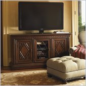 Lexington Fieldale Lodge Sundance Entertainment Console in Brown Mahogany