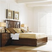 Lexington Mirage Harlow Panel Bed in Cashmere Finish
