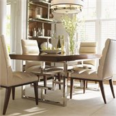 Lexington Mirage Monroe Dining Table in Cashmere Finish