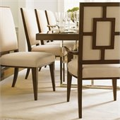 Lexington Mirage Leigh Arm Chair in Cashmere Finish - Ships Assembled