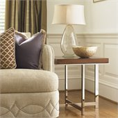 Lexington Mirage Taylor Lamp Table in Cashmere Finish