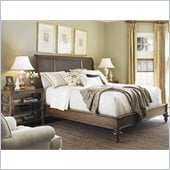 Lexington Quail Hollow Ashland Platform Bed in Wellington Finish