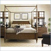 Lexington Quail Hollow Georgetown Poster Bed in Wellington Finish