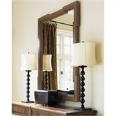 Lexington Quail Hollow Bellevue Mirror in Wellington Finish
