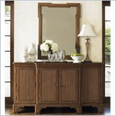 Lexington Quail Hollow Oak Hill Buffet in Wellington Finish