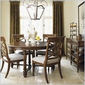 Lexington Quail Hollow Salem Dining Table in Wellington Finish
