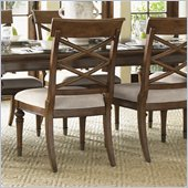 Lexington Quail Hollow Warren Side Chair in Wellington Finish-Ships Assembled