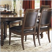 Lexington Quail Hollow Columbia Side Chair in Wellington Finish-Assembly Required