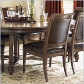 Lexington Quail Hollow Columbia Side Chair in Wellington Finish-Ships Assembled