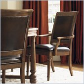 Lexington Quail Hollow Columbia Arm Chair in Wellington Finish-Ships Assembled